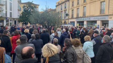 Photo de Rassemblement en la mémoire de Samuel PATY, à Bergerac