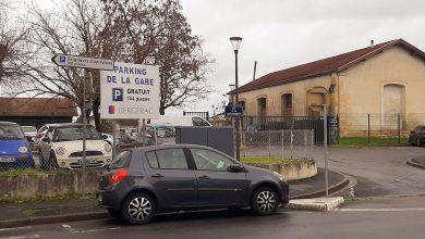 Photo de Bergerac : le parking de la gare bientôt payant.