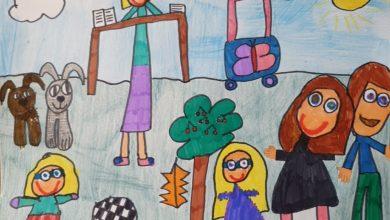 Photo de «Vis ma vie de confinés»: Léna, Joshua, Cymbeline, Timothé et Julie, enfants bergeracois.